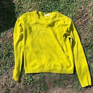 Bright Yellow Sweater